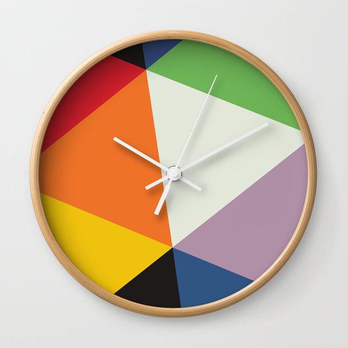 SWISS MODERNISM (MAX BILL) Wall Clock