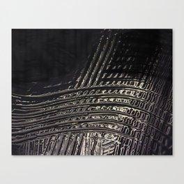 Back to Black Canvas Print