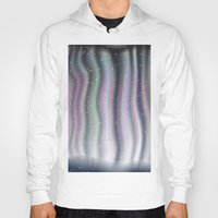 northern lights Hoodies featuring Northern Lights by Bonnie Phantasm