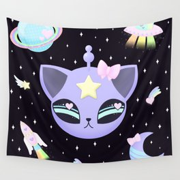 Space Cutie Wall Tapestry