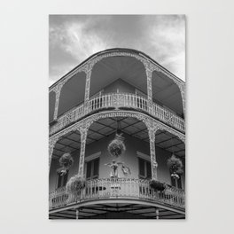 New Orleans Architecture Canvas Print