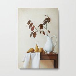 Autumn Tableau Metal Print