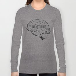 GRATITUDE Brain Long Sleeve T-shirt