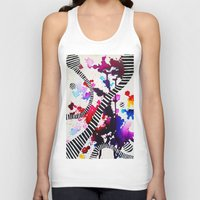 splash Tank Tops featuring Splash by DuckyB