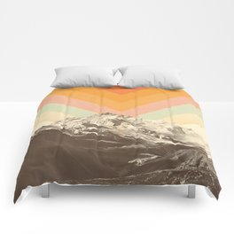 Mountainscape 2 Comforters