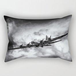 Through The Clouds Rectangular Pillow