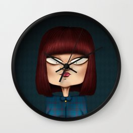 Mrs. Garcia Wall Clock