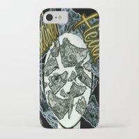 sneaker iPhone & iPod Cases featuring Sneaker Head by lilbudscorner