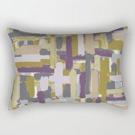 abstract marks Rectangular Pillow