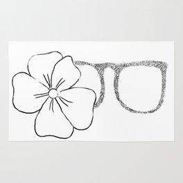 I see flowers Rug
