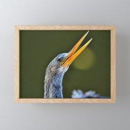 What I Want to Say Framed Mini Art Print