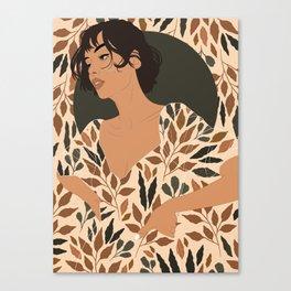 Fall Lover (Beige) Canvas Print