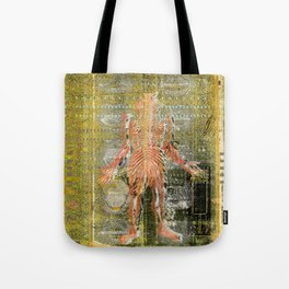 Mouth Chart Tote Bag