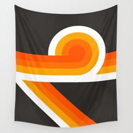 Flame Looper Wall Tapestry
