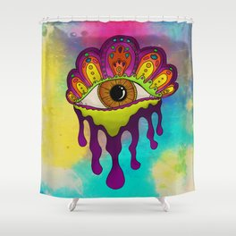 King CoSMic Eye 2016 Shower Curtain