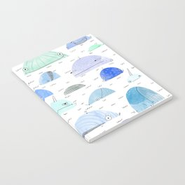 Whale party Notebook