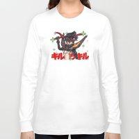 kill la kill Long Sleeve T-shirts featuring Kill La Kill Ryuko & Senketsu Tribute by Barrett Biggers
