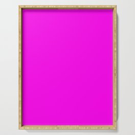 NEON PINK solid color  Serving Tray