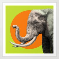 eric fan Art Prints featuring Wild 6 by Eric Fan & Garima Dhawan by Garima Dhawan