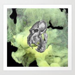 smoke bombs Art Print