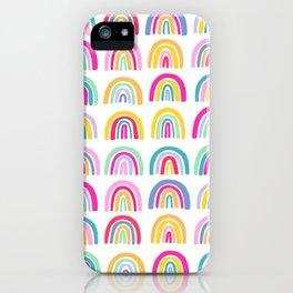 Colorful Rainbows iPhone Case