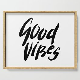 Good Vibes Serving Tray