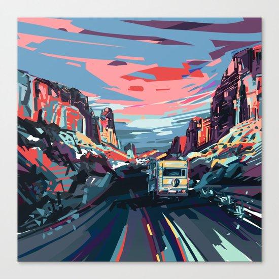 american landscape 4 Canvas Print