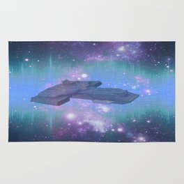 10,000 light years from home Rug