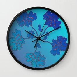Giro blue Wall Clock