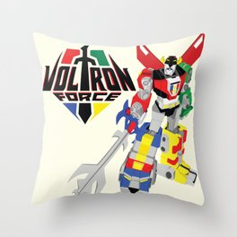 Defenders of the universe Throw Pillow