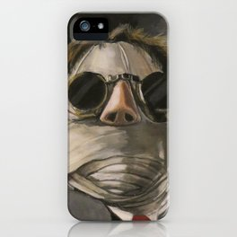 Invisible Man movie poster-ish iPhone Case
