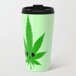 kawaii weed Travel Mug