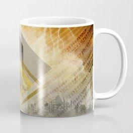 Thurisaz  Rune Digital Art composition Coffee Mug