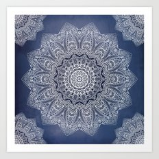 INDIGO DREAMS Art Print
