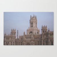 madrid Canvas Prints featuring Madrid by AnnaLee Barclay
