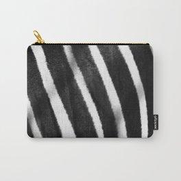 Zebra Stripes Close Up Carry-All Pouch