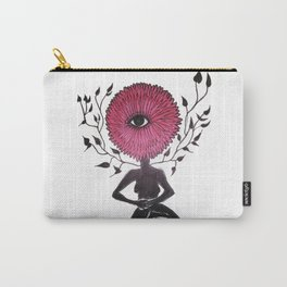 Divine Flower Woman Carry-All Pouch