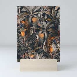 Midnight Forest III Mini Art Print
