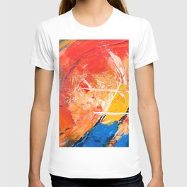 Abstract Expressionism Pastel Painting Ultra HD T-shirt