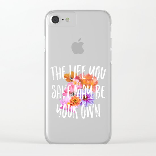 TLYS Clear iPhone Case