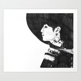 Taemin - SHINee Everybody Era Art Print
