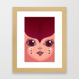 gypsy lady Framed Art Print