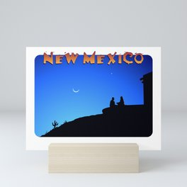 New Mexico Evening Mini Art Print