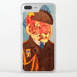 Lieutenant Du Roi Augustus Clear iPhone Case