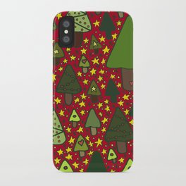 Small Trees iPhone Case