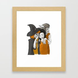 Monster BFFs Framed Art Print