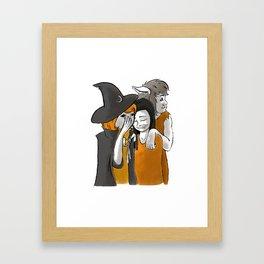 Monster BFFs Framed Art Print