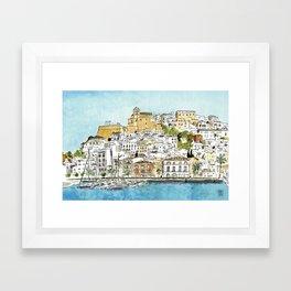 Dalt Vila, Ibiza Framed Art Print