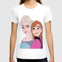 frozen T-shirts featuring Frozen by stealingoceans