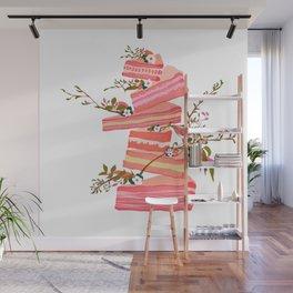 Floral Dessert Wall Mural